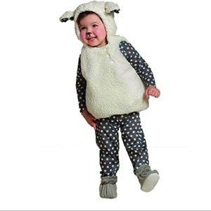 Baby Lamb Costume Hyde Eek Size 0-6 months 4 pcs